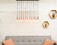 Hangout Lighting Gallery / Rustic, Industrial, Modern Farm house - Stylish decor with lighting focus