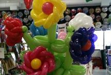 Balloon Ideas - Centerpieces