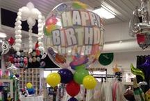 Balloon ideas - Birthday