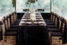 Black Tie | Wedding and Event Decor Inspiration