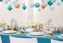 Geometric | Wedding Decor and Inspiration