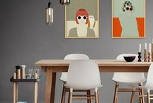 Decor with The Red Wolf / Home decor with The Red Wolf Illustrations