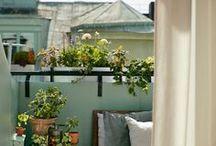 balconies, verandas and patios