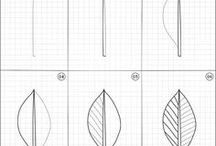 How to draw | Nature / Easy step by step drawing instructions of random thins in nature.
