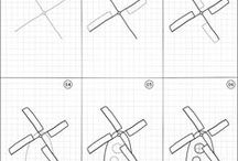 How to draw | Buildings / Easy step by step instructions of random buildings to draw.
