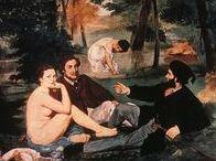 Édouard Manet (1832-1883) / Manet betragtes som bindeleddet mellem realismen og impressionismen.