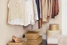 Closeds, Araras, Cabideiros e Afins / Oranização de roupas