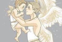 Gabriel and lucifer