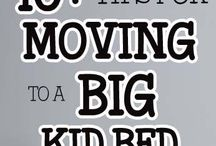 Tips for moving from crib to big kid bed / These tips along with Toddler Monitor will help for a safe transition. Toddler Monitor will alert you, via our app if your child leaves their safe space ❤ www.toddlermonitor.com