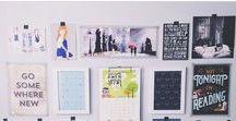 Girl bedroom idea / Pomysły na urządzenie pokoju dla dziewczyny