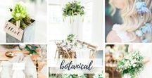 Botanical Bride / Do you dream of being a Botanical Bride? Here's some gorgeous Botanical styled inspiration for your wedding!