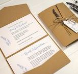 Pocketfold wedding invitations / Pocketfold, pocket and wallet wedding invitation designs.