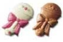 Baby Favors in Chocolate