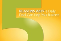 Why a Daily Deal Can Help Your Small Business / Deals are a great way to reconnect with existing or past customers and inspire them to bring their family and friend along for offers on good they're already in the market for, or at least interested in trying. / by Constant Contact