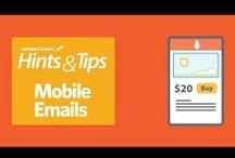 """VIDEOS: Hints & Tips / Our Hints & Tips email newsletter delivers the practical, """"how-to"""" advice you need to succeed with email marketing, social media marketing, online surveys, and events. Subscribe to Hints & Tips at http://conta.cc/16xYnyE"""