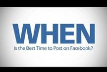 VIDEOS: Social Media Marketing / Looking for tips on marketing with Facebook, Twitter, Instagram, Pinterest, Google+ and LinkedIn? Our videos have lots of great tips on the best time to post on Facebook, do's and don'ts, how to increase social media engagement and more.