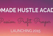 Handmade Hustle Academy / I'm launching an e-course ya'll OMG