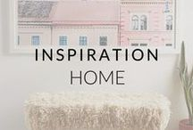 Homes We Love / Inspiring pieces for our homes and yours. Remember, home is where your shoes are.