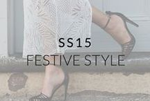 SS15: Festive Season Style / Invites piling up for the holiday season? Festive outfit inspiration from us to you.