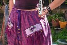 Otantik Şalvar-Pants / Otantik Şalvarlar, Kadın Giyim