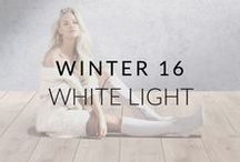 AW16: White Light / Capturing the essence of Scandinavian style, our Winter 2016 campaign features neutral and organic tones, with a focus on luxe sophistication and the Nordic lifestyle.