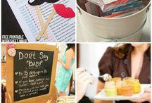 Baby Party / Deko, Spiele, Ideen zur Baby Party, Essen und Schönes, Baby Party, Newborn