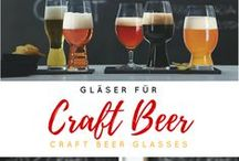 """Craft Beer / Willkommen liebe Craft-Beer-Fans. Ob hopfig-fruchtiges IPA, dunkles-malziges Stout oder ein erfrischendes Witbier. Wir haben für jeden Geschmack das passende Craft Bier Glas. Die von Experten entwickelten Gläser folgendem dem Motto """"form follows function"""". Ein Muss für jeden Bierliebhaber."""