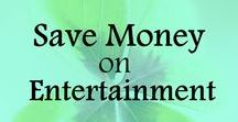 Save Money on Entertainment / Tips and ideas on how to save money on entertainment, save money on movies, save money on DVDs, save money on fun activities. Frugal living ideas, ways to save money, frugal lifestyle, money saving tips.