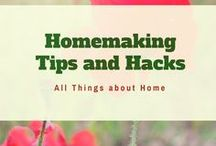 Homemaking Tips and Hacks / A board for tips, hacks and resources on home organizing, cleaning, improvement, DIYs, and recipes. If you want to join the board, please follow me (Savingchamps) on Pinterest and email me (savingchamps at Gmail) with your Pinterest URL.  No post linking to affiliates, deals/coupons, or advertising. Post your pins and repin each other's pins. No more than 5 pins a day. No spam. Thanks.