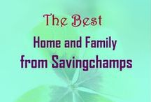 Best Savingchamps Home and Family Posts / This board includes ideas and tips from Savingchamps on homemaking, home decoration, home improvement, family fun, relationships, and relationships.