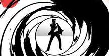 """James Bond. The Sixties / Здесь представлены материалы для поддержки и сопровождения проекта """"Вперёд в прошлое! 60-е"""". Нас ждёт погружение в увлекательный мир кино той эпохи. 6 фильмов о Джеймсе Бонде были созданы в 60-е."""