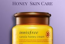 Honey Skin Care / Honey is one of the best, natural remedies for bright, blemishes-free skin.