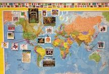 #GlobalEd & Multicultural Learning for Kids / Everything to increase global awareness in the classroom. Geography, cultural lessons, international week, map skills: teaching elementary schools kids about the world! www.kidworldcitizen.org