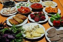 Food from Around the World / Healthy, colorful food from around the world, for families and parties. Inspiration for www.kidworldcitizen.org