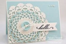 Cards - Medallions and Doilies / by Kay Hough
