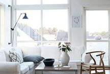 Home Living Spaces / Minimal, clean, bright, chasing light. These are the home spaces and places I admire. / by Melody | finicky designs