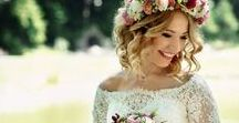 Spring Wedding Inspiration / If you're getting married during the spring then check out this board for exciting spring wedding ideas. Think ivory, green, neutral colours and pink for the ultimate spring wedding colour scheme; bright bouquets; floral bridesmaid dresses and lots of cute spring decor ideas.