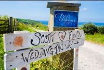 Seaside Themed Weddings / Whether you're getting married on the beach in the Caribbean or on a sandy beach in the Uk, this Pinterest board is full of unique and exciting beach wedding ideas. Take the ideas abroad with you, or keep them in mind for when you plan your wedding party back here in the UK.