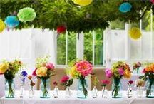 Wedding Centrepiece Ideas / How are you planning to decorate the tables at your wedding reception? Whether you go for long banquet style tables or the classic circular tables, you'll find plenty of amazing wedding centrepiece ideas here.