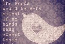 Words. / Good words, words yet read.
