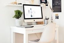 Home Office/Art Studio / My someday home office space- a place of inspiration and order. / by Melody | finicky designs