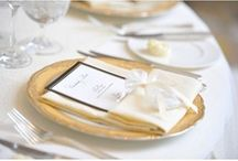 Glamorous Wedding Ideas / If you're looking to add a touch of glamour to your wedding then be inspired by the glamorous wedding ideas featured on this inspiration board.