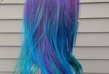 Capelli colorati - colorful hair <3 / i capelli colorati come piacciono a me! / by Mymagicsweeties Creazioni