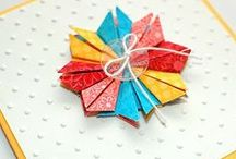 Tea Bag Folding Inspiration / Amazing creations with fabulous papers.