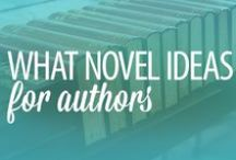 IDEAS & TIPS FOR AUTHORS / Writing a novel? These should help... / by Melody | finicky designs