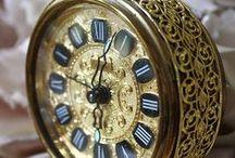 Clocks,  Time Instruments / by Karen Hanson