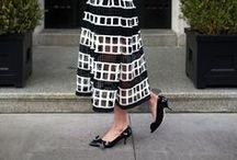 [fashion: midi] / Midi skirts and dresses