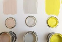 paint swatches / by Vi Nguyen