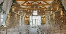 Barn Wedding Venues / Beautiful barn wedding venues and ideas for a rustic themed wedding from hitched.co.uk. Whether you're looking from decor inspiration to fairylight ideas, these pictures will show you just how a barn wedding reception should be done.
