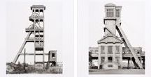 Bernd & Hilla Becher / Bernd Becher was born 1931, in Siegen, Germany. He studied painting and lithography at the Staatliche Kunstakademie Stuttgart and studied typography at the Staatliche Kunstakademie Düsseldorf. Hilla Becher was born Hilla Wobeser in 1934, in Potsdam, Germany. She studied painting at the Kunstakademie Düsseldorf, where she met Bernd Becher. The two artists first collaborated in 1959 and were married in 1961. They began working as freelance photographers, concentrating on industrial photography.